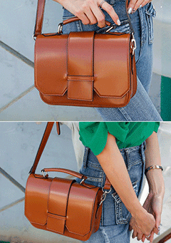 Classic Square Shoulder Bag