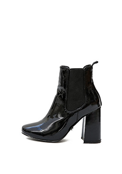 Lime Initial Ankle Boots