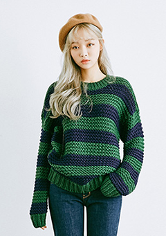 Wear Stripe Knit