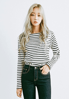 Basic Stripe Tee