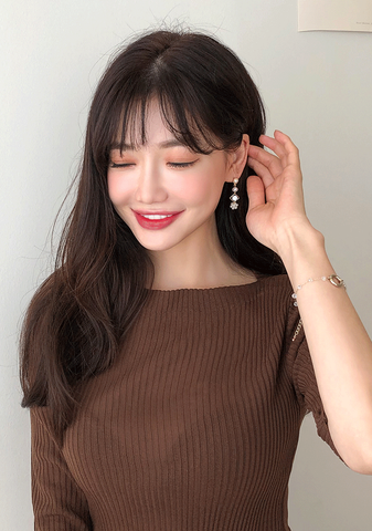 Four Level Fantasy Cubic Earring