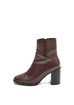 Square Modern Ankle Boots