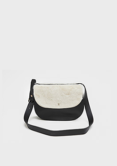 Fluffy Top Cross Bag