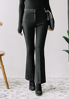 Glam Simple Bootcut Slacks