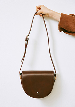 Simple Button Close Cross Bag
