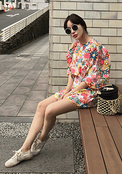 Seventy Color Of Flower Dress