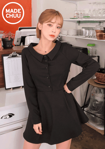 Special Mini Collar Dress