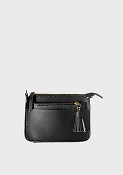 Tassel Point Clutch