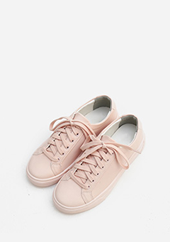 Daily Fake Leather Sneakers