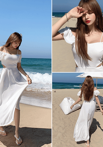 Glamorous Angle Off-Shoulder Dress