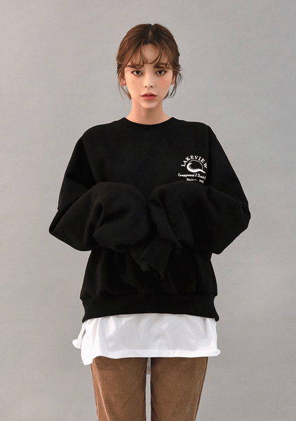Deep Lakeview Sweater