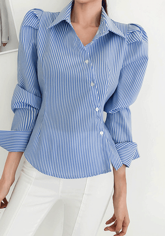 The Bright Side Stripes Blouse