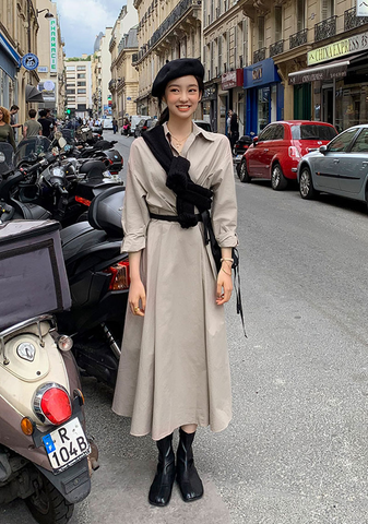 Coeur De Paris Long Shirt Dress