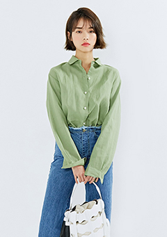 High Collar Daily Shirt