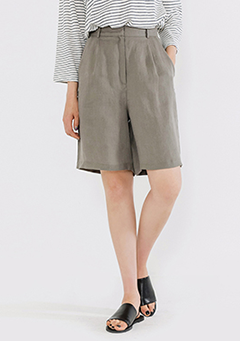 Classically Linen Wide Shorts
