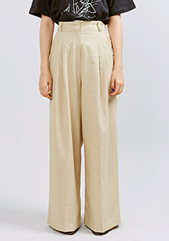 Overlength Wide Pants