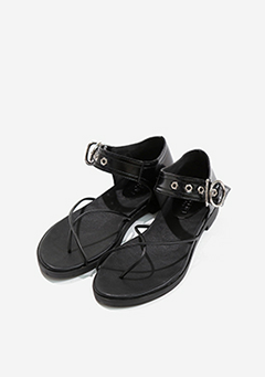 Unique Buckle Sandals