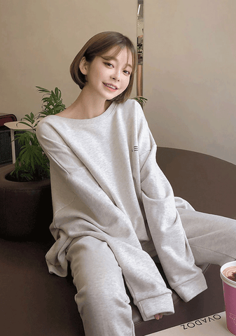 Natural Loose Fit Sweatshirt