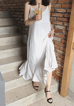 Valencia Cami Trumpet Maxi Dress