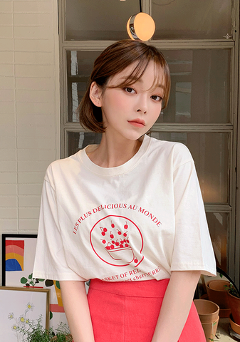 The Most Delicious Cherries Tee