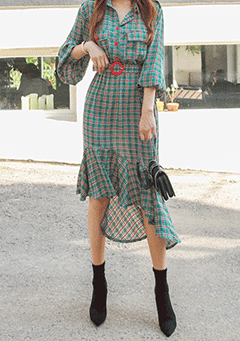 Newburgh Plaid Dress