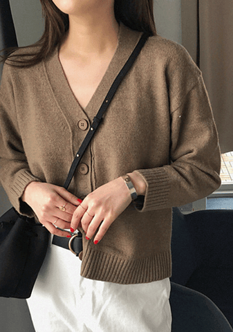 Moment To Slow Down Knit Cardigan