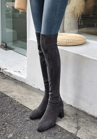 Tied Over The Knee Perfect Photoshop Boots Vol.10
