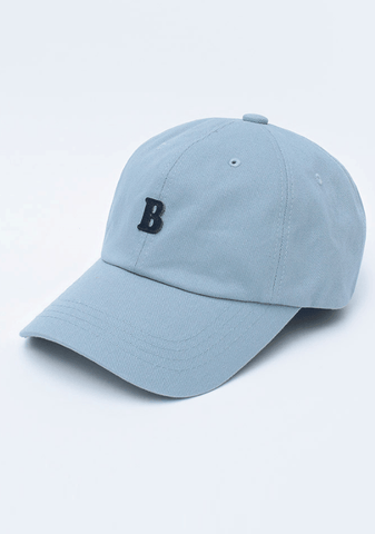 B For Blanco Baseball Cap