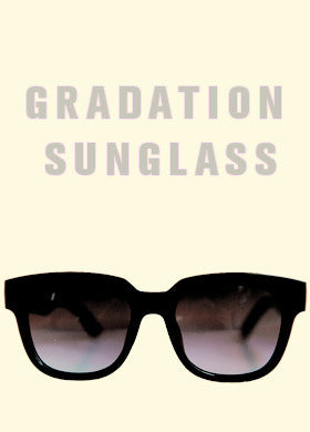 Gradated Lens Sunglasses