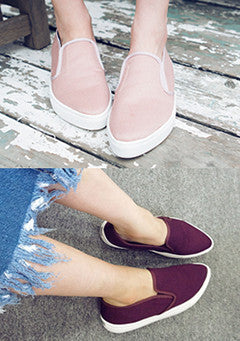 Ire Steaming Pointed Slip On Sneakers