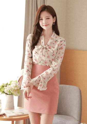 Orchids Branch Blouse