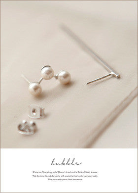 Prong Set Pearl Earrings