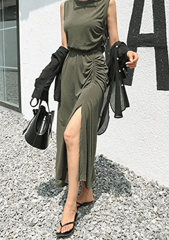 Royce Sleeveless Maxi Dress