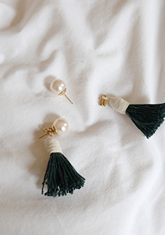 Hi.Tassel Earrings