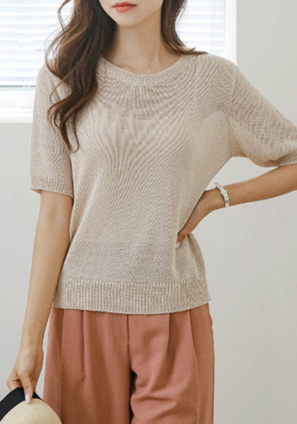 Sweet Rose Knit Top