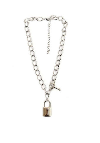 Perfect Aware Lock Necklace