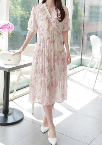 Fierce Lady Friendship Flowers Dress
