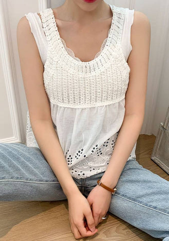 Aloha Crochet Sleeveless Top