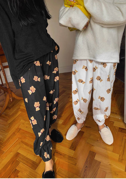 Teddy Night Printed Pants