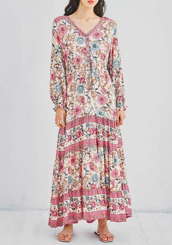 The Silence After The Rain Flowers Dress