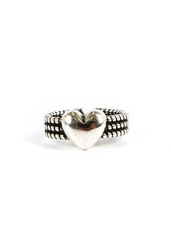 Heart And Problem Ring