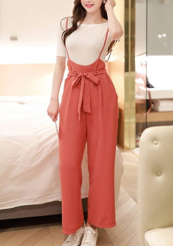 A Rose Garden Ribbon Jumpsuit