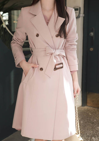 The Concept Double Breast Trench Coat