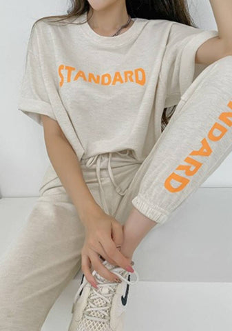 Standard Situation T-Shirt Pants Set