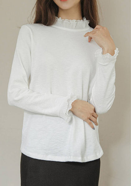 Real Difficulty Frill Sleeves Top