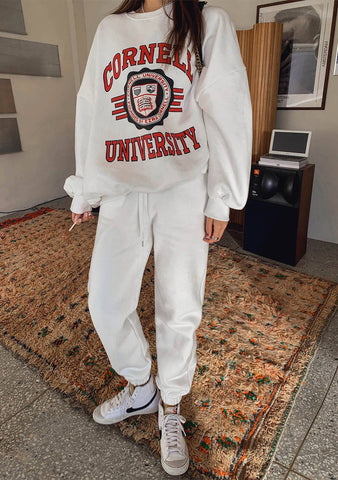 Cornell University Sweatshirt Pants Set