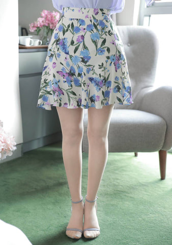 The Pace Of Nature Flower Skirt