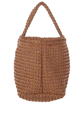 Are You Ready For Magic Straw Bucket Bag