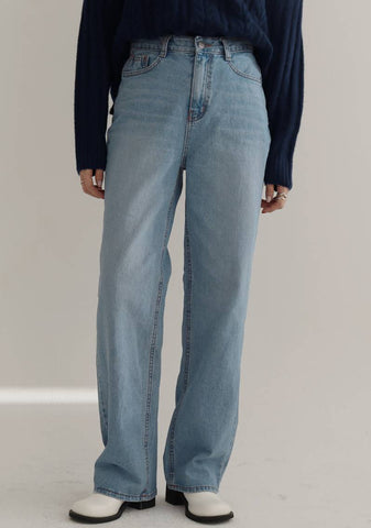 Ethereal Denim Jeans [Light Blue]