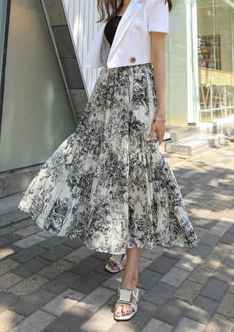 The Yearning To Be Close Paisley Skirt